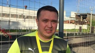 Лучший вратарь Первенства города 5х5 о награде