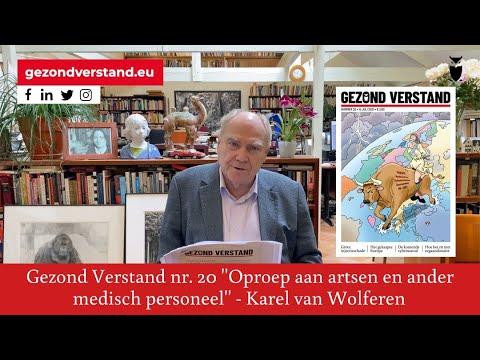 Voordracht Karel van Wolferen nr 20 Oproep aan artsen en ander medisch personeel
