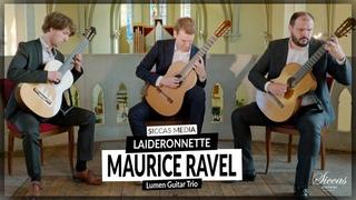 Lumen Guitar Trio plays Laideronnette by Maurice Ravel   Siccas Media (2021)