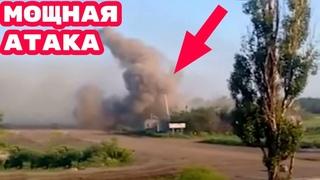 Ополченцы Донбасса провели мощную атаку против ВСУ, задействовав бронетехнику и артиллерию.