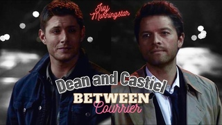 Dean and Castiel - Between (Courrier) with lyrics