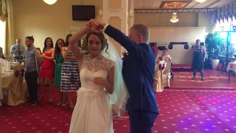 Алексей и Елена Свадебный танец хастл