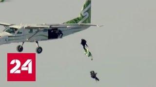 Прыжок без парашюта: Люк Эйкинс поделился впечатлениями