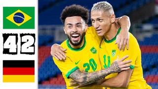 Brazil vs Germany 4-2 - Extеndеd Hіghlіghts & All Gоals 2021 HD