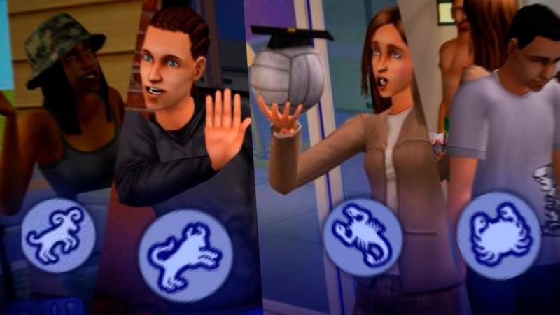 Как работали знаки зодиака в первых двух частях The Sims