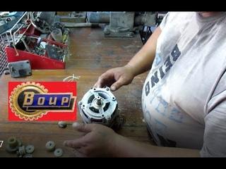 Сколько меди в эл. моторе стиральной машинки Обь Есть ли смысл разбирать или восстанавливать.