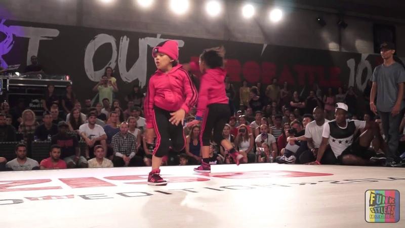 FSTV Eurobattle 2014 2v2 BGirls Final Elettra Xannah vs Eddie Terra