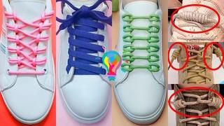 Как завязать шнурки. Шнуровка кроссовок 10 способов красиво зашнуровать обувь | lacing shoes