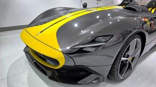 Ferrari Monza SP2 810HP $2 MILLION INCREDIBLE BEAST - Walkaround Closer look at IKONICK MOTORS