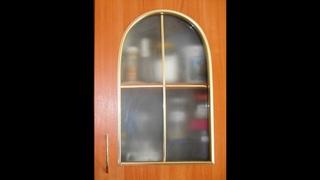 Как сделать матовое стекло для кухонного шкафчика