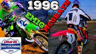 JEREMY MCGRATH VS JEFF EMIG - 1996 OUTDOORS