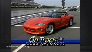 MotorWeek | Ретро обзор: '93 Dodge Viper RT/10