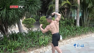 This 70 years old Chinese man looks like  30s after 34 years everyday workout- English Sub
