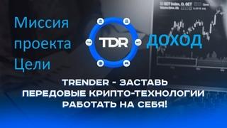 Trender ч.1 Миссия проекта, цели, инструменты и размер пассивного дохода до выхода на биржу