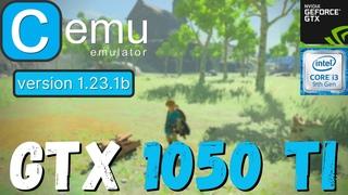 CEMU Emulator v  - GTX 1050 TI   i3 9100f   2021