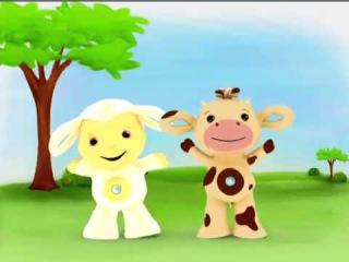 Tiny Love Тини Лав  2 серия  Овечка и коровка  Развивающий мультфильм