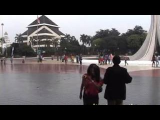 TOUR DE JAKARTA SISWA SMPN 1 BATANGAN TAHUN 2013
