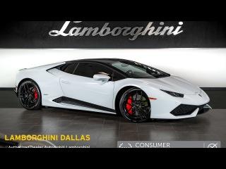 2015 Lamborghini Huracan LP 610-4 Bianco Icarus LT0994