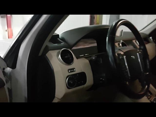 Виртуальная приборная панель на Land Rover Discovery 4 2011