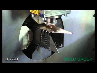 LT722D rect. tube high speed cutting