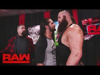 [WBSOFG] Seth Rollins stands up to Braun Strowman: Raw, Jan. 9, 2017