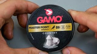 Пневматические пули Gamo Master Point 4,5 мм (500 шт) видео обзор