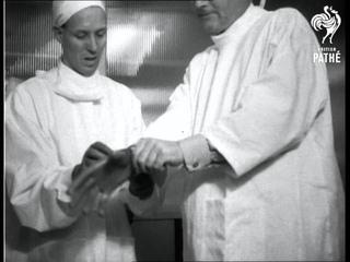 "London - ""Miracle"" Drugs Lab Opened Aka Opening Of New Crookes Miracle Drug Laboratory (1953)"