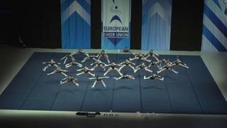 Cheerleading .Junior Cheer All Girl Elite Austria Unique.
