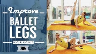 Lean Legs workout - ballet inspired exercises | Lazy Dancer Tips