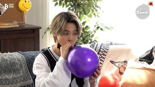 [BANGTAN BOMB] Jimin and Helium Balloons