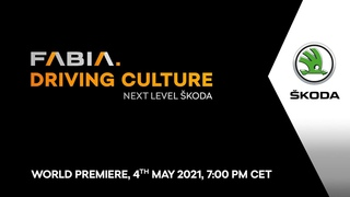 World Premiere: Watch the unveiling of the all-new ŠKODA FABIA right here!