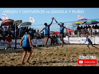 Final Varonil, Tour Mexicano de Voleibol de Playa, Guayabitos 2019