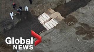 Coronavirus outbreak: New York buries COVID-19 dead in mass grave on Hart Island