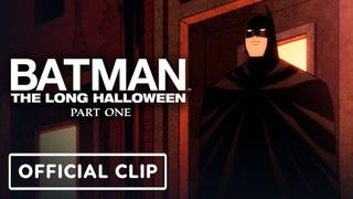 Batman: The Long Halloween, Part One - Official Exclusive Clip (2021) Jensen Ackles