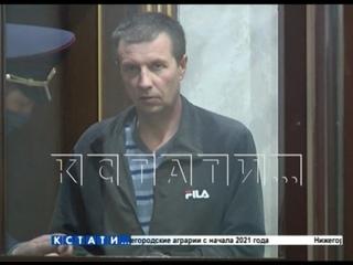 В областном суде вынесен приговор убийце ребенка, которого в 2018 году искал весь Нижний Новгород