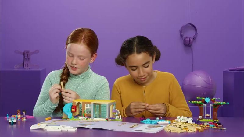 LEGO Friends 41340 Домик Дружбы (720p).mp4