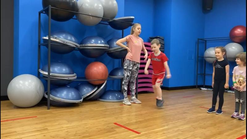 Детская гимнастика 3 5 лет