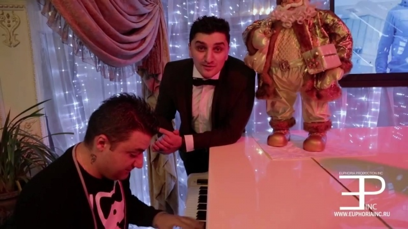 Euphoria Production Ачи Пуртселадзе и Георгий Меликишвили подарок к новому году Песня ТБИЛИСО