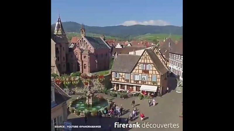 Eguisheim un des plus beaux villages de France