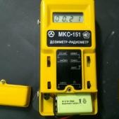 Дозиметра-радиометра МКС-151