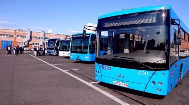 Совсем скоро в Петербурге появятся автобусы с иску...