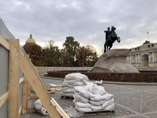 Смольный потратит 40 миллионов рублей на реставрац...
