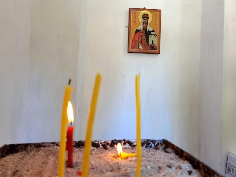 Псков. Часовня Святой Равноапостольной княгини Ольги (фрагмент)