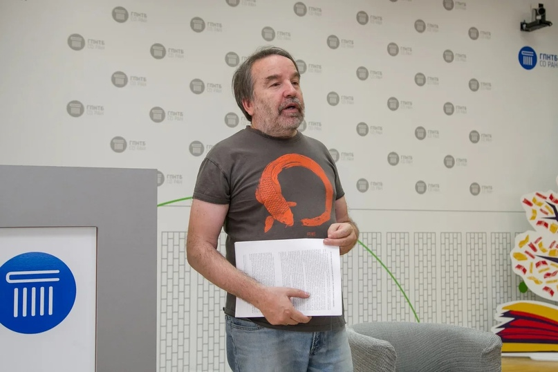 Олег Лекманов на фестивале «Книжная Сибирь»