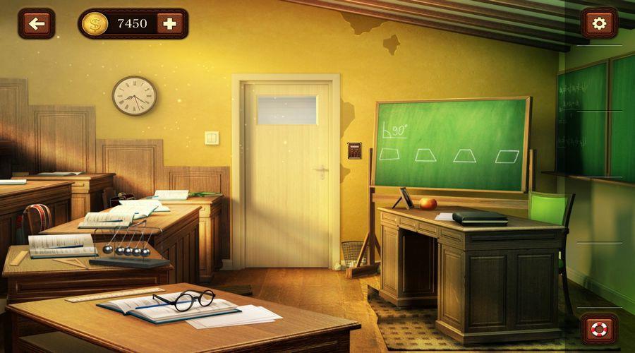 100 дверей: Побег из комнаты 64 уровень