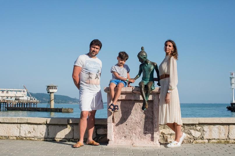 Семейная фотосессия в Сухуме - Фотограф MaryVish.ru