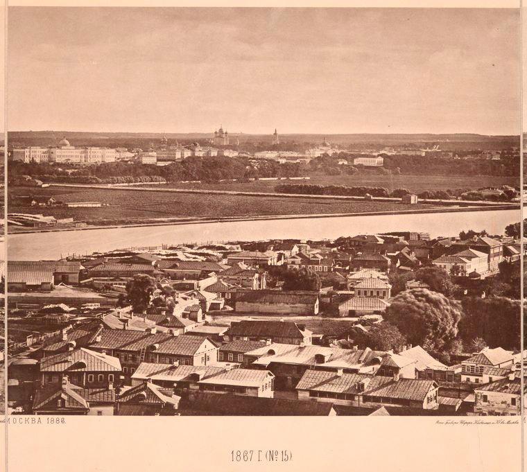 Москва без людей в 1867 году. Где все люди?, изображение №27
