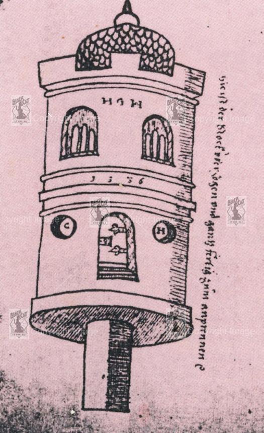 Ракеты XVI века: пилотируемые, многоступенчатые и с соплами, изображение №10