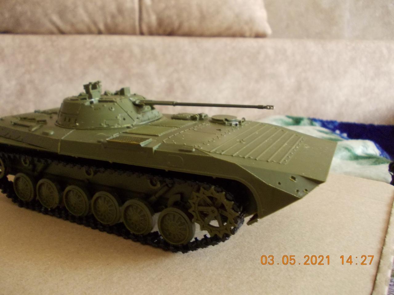 """БМП-2, 1/35, """"Звезда"""" UExi1OgMzoU"""