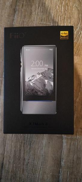Продам аудио плеер Fiio X7 Mark 2 Titanium, полная компле...